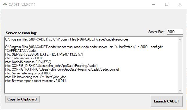 CADET Documentation | Installing CADET